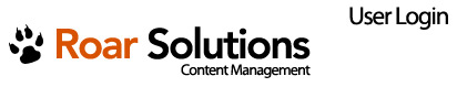 Roar Solutions Inc - Content Management System